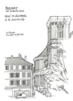, Artist Sketchbooks , Study Resources for Art Students with thanks to gerard michel, CAPI ::: Create Art Portfolio Ideas at milliande.com, Art School Portfolio Work Keeping Sketchbooks, How to Draw Buildings, How to Sketch Architecture, How to Keep a Sketchbook