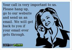 I cannot wait for all our companies to be able to email us so I can tell people this!!!