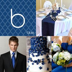 Blue Wedding – A Spring Wedding Color Trend For 2013...funny that I had this planned in fall of 2011 for my may 2013 wedding. :)