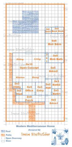Sims Freeplay House Blueprints