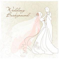 wedding theme vector