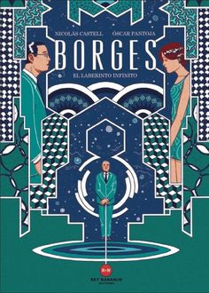 """""""Borges, el laberinto infinito"""" is the graphic novel about the life of Jorge Luis Borges I've done it with the help of Oscar Pantoja and the coordination of Rey Naranjo publishing house. Drawing this story was an adventure of 2 years! Terryl Whitlatch, Fiction, Short Comics, Space Time, Life Is Beautiful, Les Oeuvres, Editorial, Novels, This Book"""