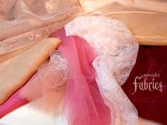 Sewing with Specialty Fabrics : tulle, organza, burlap, etc.