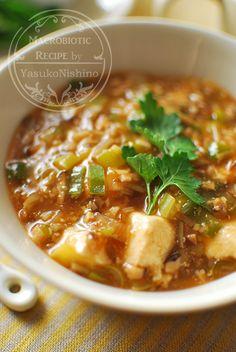 麻婆豆腐と、春野菜を楽しむ中華ランチ