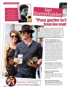 Ian Somerhalder Article