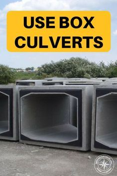 Forget Shipping Containers Use Box Culverts - You pay out of your nose for a reinforced shipping container that you hope doesn't get rusty and leak over time. For a typical reinforced 10ft shipping container you could probably pay about 10k. For the same sized customized concrete culverts you are looking around 6k #prepper #preparedness #shelter #survival #shtf