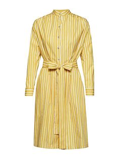 Marimekko Dress, Yellow Dress, Finland, Shirt Dress, Fashion Outfits, Clothing, Shirts, Dresses, Design