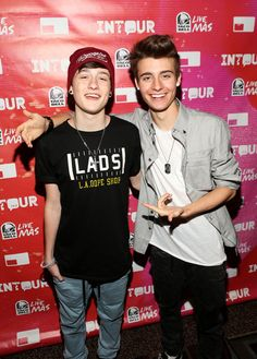 Chris and Crawford Collins <3