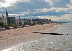 Portobello beach, Edinburgh - Here I: once got a massive sunburn; had a long walk with my boyfriend; went to a barbeque...