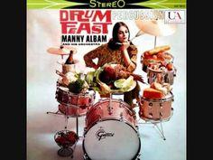 Manny Albam - Drum Feast (1959)  Full vinyl LP