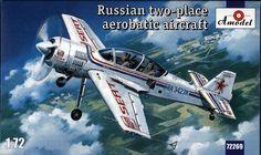AModel AMO 72269 Sukhoi Su-29 Russian two-place aerobatic aircraft