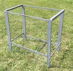 Cast Iron Table Legs Industrial Age Steampunk Base Steel Factory Cart g FREESHIP