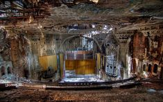 United Artists Theater - The United Artists Theatre Building is a vacant high-rise tower in downtown Detroit, Michigan, standing at 150 Bagley Avenue. It was built in 1928 and stands 18 stories tall.