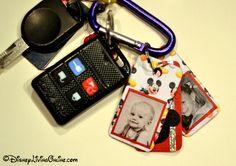 Disney Credit Card Keychain