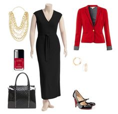Ooooh how elegant! Pair a classic black Maxi wrap dress with pearls, a shot of red (Chanel nail polish is an affordable luxury!), a ladylike structured bag, and stunning Mary Jane patent shoes for a rich look that will take you anywhere in style.