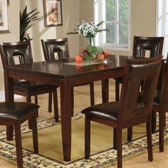 Coaster Fine Furniture 102521 Ervin Dining Table $377