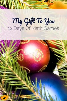 I find you can never have too many math games to keep kids engaged, so today I'm sharing 12 of my favorites. These 12 games cover areas including number, mental math, space, and chance and data. Have fun sharing these with your students! Teaching 5th Grade, 2nd Grade Classroom, Teaching Math, Future Classroom, Teaching Resources, Teaching Ideas, Classroom Ideas, High School Activities, Math Activities