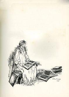 Arousing Delight - Arthur Rackham: Literature