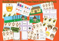 Loads of activities relating to Goldilocks and the Three Bears.