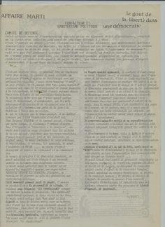 Affaire Marti Raymond: (1) SYSTEME ET DESPOTISME - LE BRAS DE FER EN PHAS...