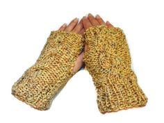 Fingerless Gloves Hand Knit   Fashion Trend by ToppyToppyKnits