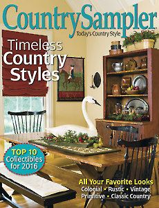 Magazines Country Sampler December January 2016