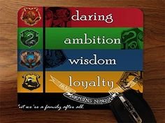 Trendy Accessories Gryffindor Daring Slytherin Ambition Ravenclaw Wisdom Hufflepuff Loyalty Crests Design Print Image Desktop Office Silicone Mouse Pad available at https://www.amazon.com/dp/B017SYG61W #mousepad #customizedmousepad #siliconemousepad #computeraccessories #laptopaccessories #desktopaccessories #officewareaccessories #gryffindordaringSlytherin AmbitionRavenclawWisdom HufflepuffLoyaltyCrests #tadesigns