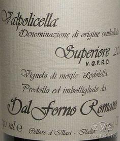 Dal Forno Romano: o que é Valpolicella?