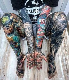 ➖➖➖➖➖➖➖➖➖➖➖➖➖ 💉Tattoo Artist/Model: ➖➖➖➖➖➖➖➖➖➖➖➖➖ 📩DM for shoutouts & share your ink🤘 ➖➖➖➖➖➖➖➖➖➖➖➖➖ 🔥💀Daily tattoo inspo ➡️➡️➡️ ➖➖➖➖➖➖➖➖➖➖➖➖➖ 👉 ☠️ 👉 ☠️ Badass Tattoos, Leg Tattoos, Arm Band Tattoo, Body Art Tattoos, Girl Tattoos, Sleeve Tattoos, Tattoo Ink, Moth Tattoo, Black Tattoo Art
