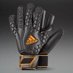 half off def03 1733a adidas Predator Pro (EX) GK Gloves - Black Solar Zest