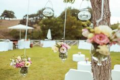 Your wedding guests will dine outside where glass jars will hung from the trees, decorated with simple arrangements of cream, white and pale pink blooms so as not to detract from the magical backdrop. Contact me for your wedding in Tuscany, for stunning views, fun activities and, of course, an abundance of wedding details. #instawedding #weddingdream #weddingdreaminitaly #weddingday #weddingideas #weddingdecor #weddingdecoration #tabledesign #tabledecoration #weddingflowers