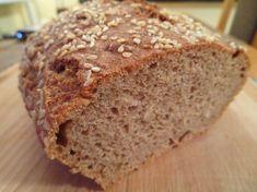 Fotorecept: Rýchly špaldový chlieb