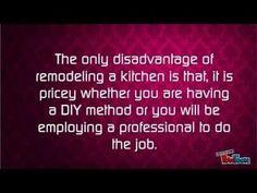 Kitchen Remodeling Advantage and Disadvantage - YouTube