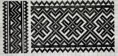 Smøyg mønster, kvarde, Telemarksbunad.