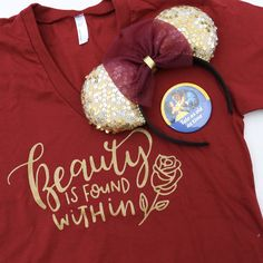A New Beauty and The Beast Shirt Design That Belle Would Be Proud To Wear