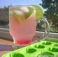 Limonade rose à la lime