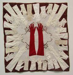 vintage gloves quilt