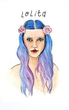 Modern Lolita (print). $6.00, via Etsy. by @Allie Fraley.  SOOoooo pretty
