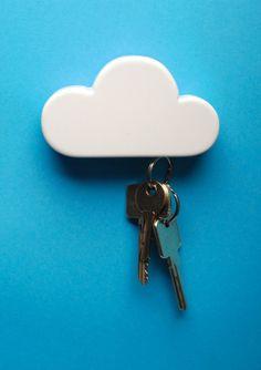 Cloud keyring holder by Duncan Shotton