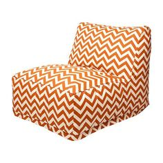 Bridget- this is the bean bag chair we talked about.  I pinned this Madeline Chair in Orange from the Majestic event at Joss and Main!
