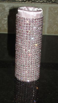 Pink and Grey Decor!!! Help a bride out!! :  wedding grey pink wedding decor needed 002Pink Holder