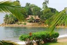 Lou Moon Lodge, Axim Ghana. Perfect little Eco Resort.