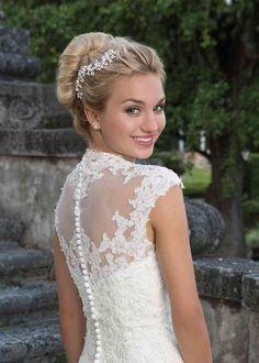 Sincerity Bridal Wedding Dresses, Wedding Dress Necklines, V Neck Wedding Dress, Modest Wedding Dresses, Elegant Wedding Dress, Tulle Wedding, Gown Wedding, Wedding Black, Bridal Veils