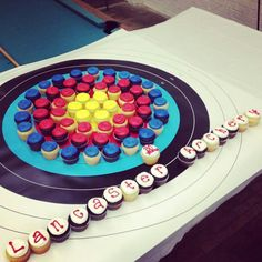 Couture cupcakes, Archery.