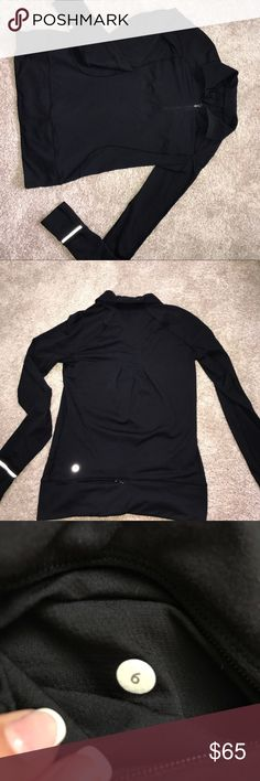 lulu lemon pullover super soft, fits over fitted shirts or just by its self!! perfect to take a run with (has built in hand covers on the sleeves), and a good lounging pullover! with shirts i am a 4, and i buy a size up so i don't always have to suck in😂 worn 3 times Tops Sweatshirts & Hoodies