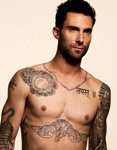 Adam Levine @Rossana Elizabeth ok that's hot lol