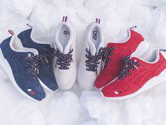 Ronnie Fieg i Kith NYC wraz z marką Moncler zaprezentowali kilka dni temu wspólną zimową kolekcję. W ramach tego projektu wyjdą nowe Asics Gel Lyte III.