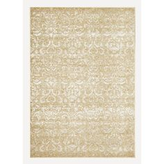 Shop DYNAMIC RUGS Mysterio 7-ft 10-in x 10-ft 10-in Rectangular Beige Solid Area Rug at Lowes.com