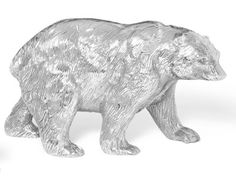 Enter for a chance to win one  set of four silver bears (two large, two small) from The Home Port Collection. #sweeps