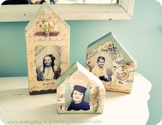 Everyday is a Holiday: Jenny's adorable houses!